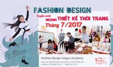Học ngành thiết kế thời trang tháng 7