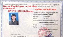 Lớp học xuất nhập khẩu thực tế tại Bắc Ninh