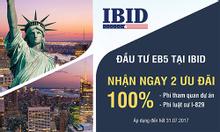 Miễn phí đi Mỹ tham quan dự án khi đầu tư EB5 tại IBID