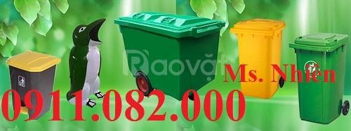 Sỉ lẻ thùng rác công cộng - thùng rác 120 lít