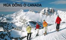 Vé máy bay đi Canada, du lịch Canada vào mùa đông