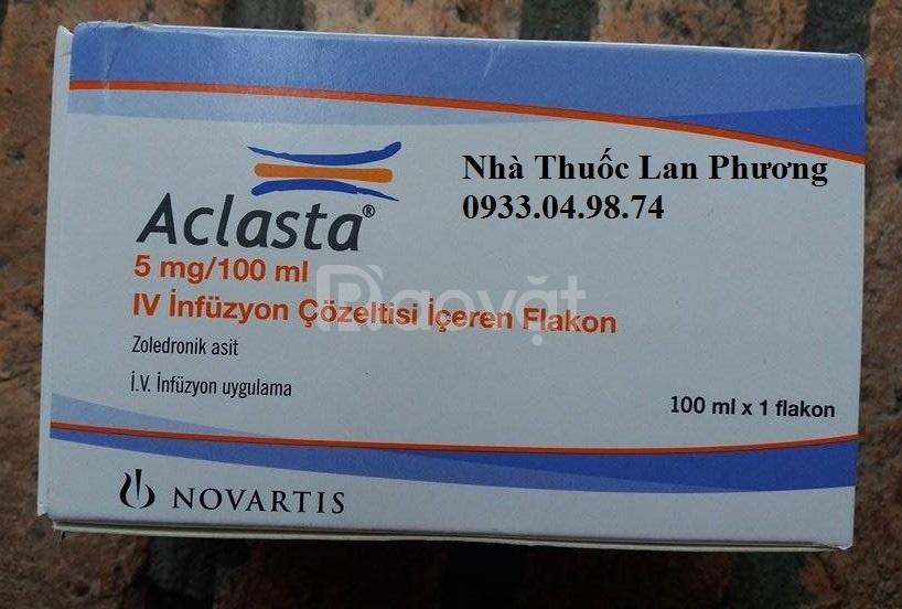 Giá thuốc Aclasta 5mg/100ml điều trị loãng xương
