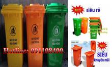 Sỉ và lẻ thùng rác nhựa 120l, 240l
