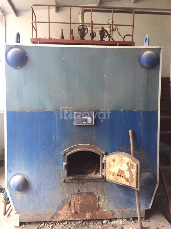 Bán nồi hơi đốt than cũ 1.5 tấn, 2 tấn, 4 tấn