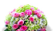 Giỏ hoa tươi - shop hoa Hà Linh