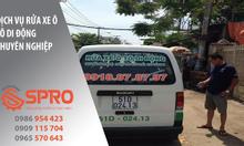 Dịch vụ rửa xe bằng máy rửa xe hơi nước nóng