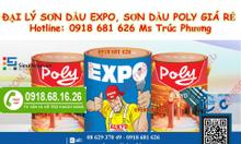 Cửa hàng sơn dầu Expo chính hãng giá rẻ