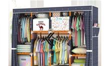 Tủ vải đựng quần áo - tại Tuvai.vn