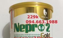 Sữa nepro 1 gold và nepro 2 gold giá 229k