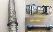 Ống inox 316 + lưới 304 - khớp nối mềm - ống mềm