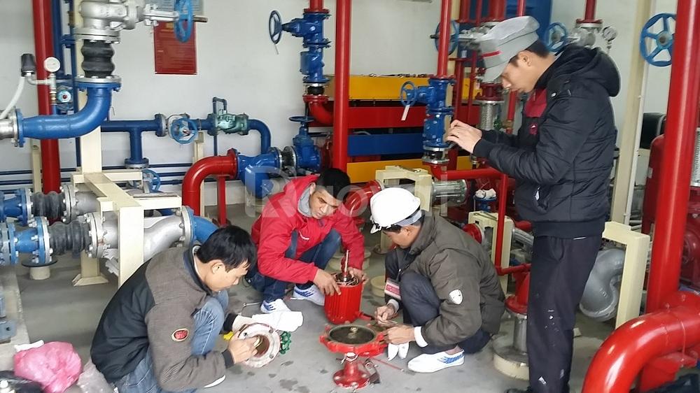 Tuyển lao động phổ thông lắp đặt PCCC