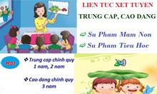 Xét điểm lớp 12 học cao đẳng mầm non Hà Nội
