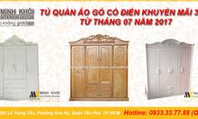 Tủ quần áo cao cấp với phong cách cổ điển