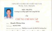 Cần học chứng chỉ thiết bị trường học tại Đà Nẵng