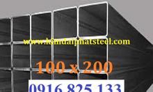 6.Thép hộp chữ nhật 100x200x6, thép hộp 100x200x8