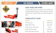 Xe nâng giấy cuộn ở Lạng Sơn
