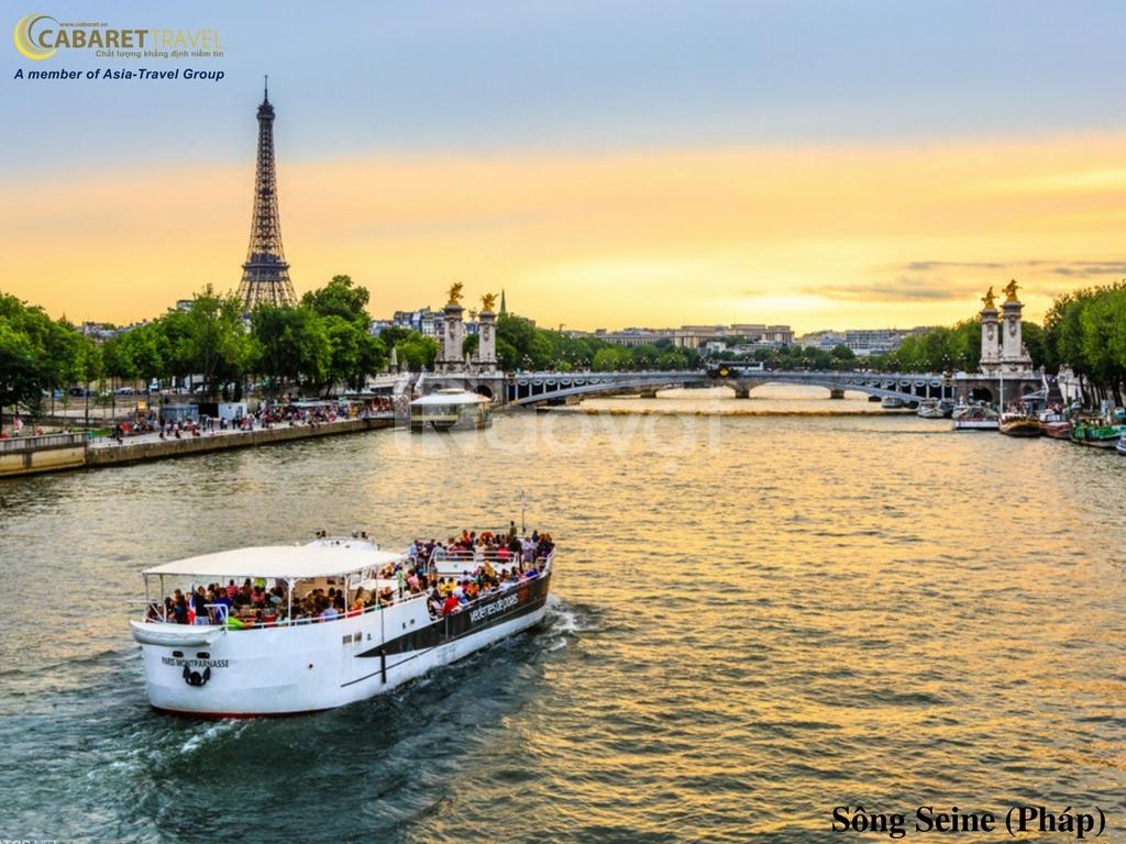 Du lịch Châu Âu: Pháp – Thụy Sĩ – Ý – Vatican