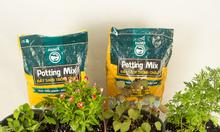 Đất sạch Namix giúp hoa và rau phát triển tốt