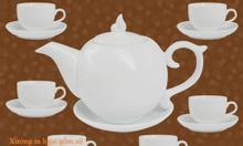 Sản xuất in bộ ấm trà tại Ninh Thuận