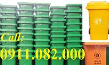 Bán thùng rác 240 lít giá rẻ- thùng rác giá thấp