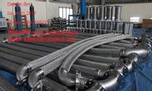 Lưới inox 316 + ống 321 - khớp nối mềm inox