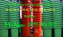 Xả kho 1500 thùng rác 120l, 240l giá sốc