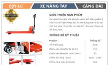 Xe nâng tay Lào Cai - Xe nâng càng dài 1m5, 2m