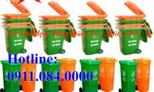 Tưng bừng khuyến mãi thùng rác 120l, 240l