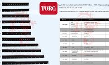 Bán Dao cắt cỏ máy toro 93-4262.4263.4264