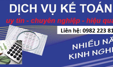 Nhận làm kế toán ngoài giờ hành chính tại Hà Nội