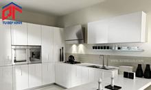 Mẫu thiết kế tủ bếp gỗ cho nhà chung cư