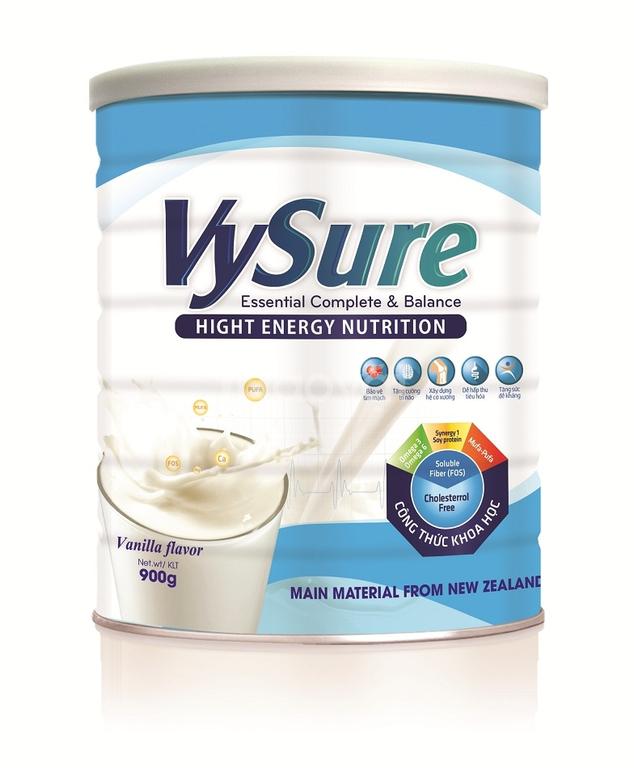 Sữa Vysure dinh dưỡng cho người bệnh gan
