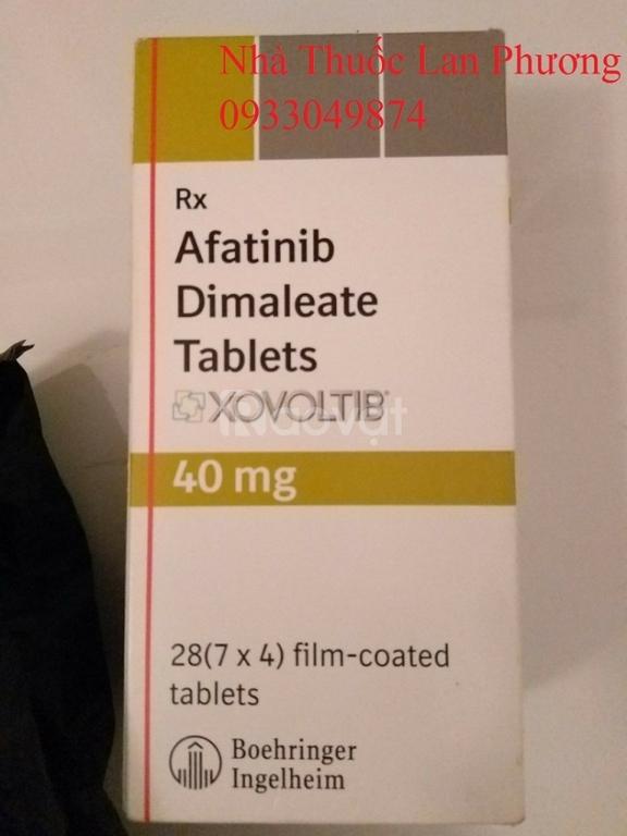 Giá thuốc Afatinib Xovoltib 40mg ung thư phổi