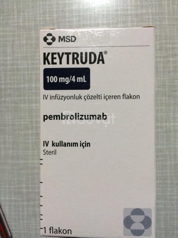 Giá thuốc Keytruda Pembrolizumab ung thư