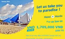 Cebu khuyến mãi đi Manila, Sydney giá rẻ
