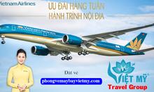 Vé máy bay Vietnam Airlines khuyến mãi nội địa