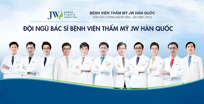 Nâng Mũi Hàn Quốc Tại Bệnh Viện JW - 5 Sao