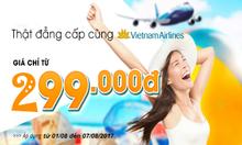 Săn ngay vé Vietnam Airlines 299k bay nội địa