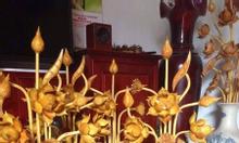 Hoa sen gỗ phòng thờ, phòng khách