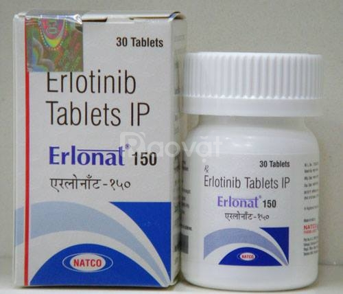 Giá Thuốc Erlonat150 mg Erlotinib Natco