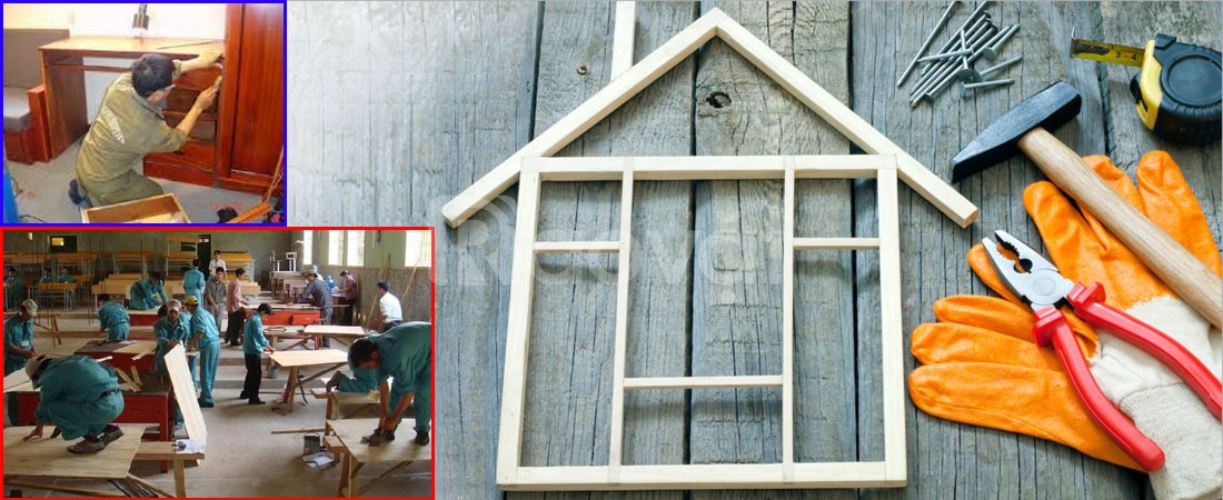 Dịch vụ sơn PU, sửa chữa đồ gỗ Quận Phú Nhuận