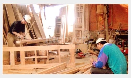 Dịch vụ sơn PU, sửa chữa đồ gỗ Quận Tân Phú