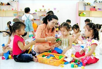 Xét NV2 học cao đẳng sư phạm mầm non tại Hà Nội