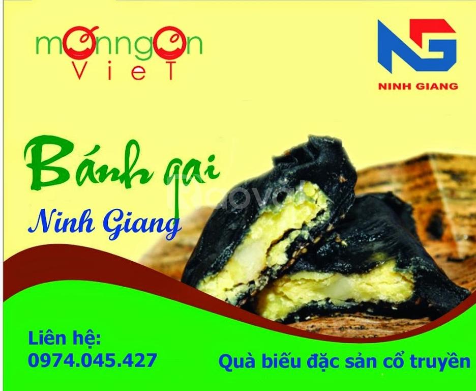 Mua bánh gai Ninh Giang, bánh đậu xanh Hòa An