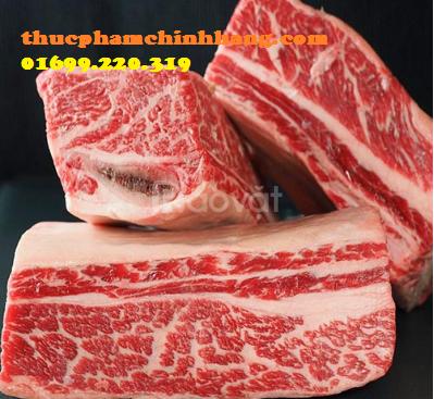Phân phối thịt bò đông lạnh tại Hà Nội