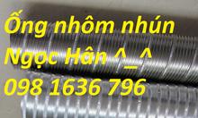 Ống nhôm nhún D250, ống gió gió nhôm D250