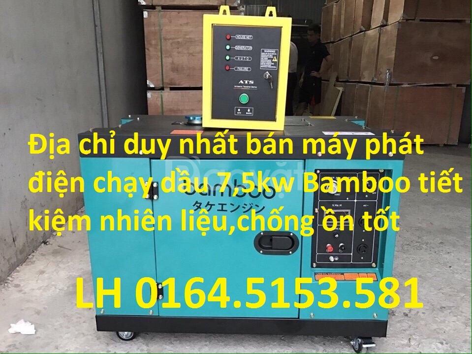 Giảm giá máy phát điện chạy dầu 5kw, 7kw Bamboo