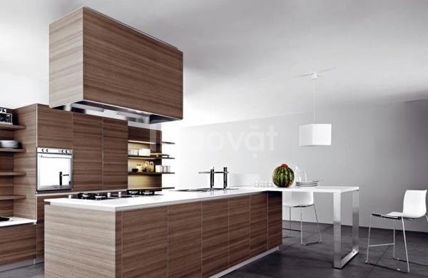 Tủ bếp gỗ tự nhiên đẹp