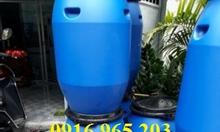 Bán phuy nhựa hở 120 lít, 150 lít đựng hóa phẩm