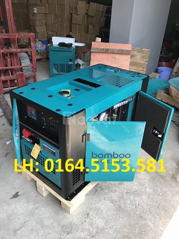 Giảm giá các loại máy phát điện chạy dầu Bamboo 5kw, 7kw giá rẻ